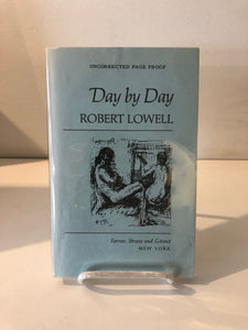 Day by Day by Robert Lowell