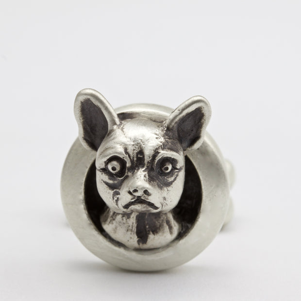 Chihuahua Short Haired pair of Cufflinks