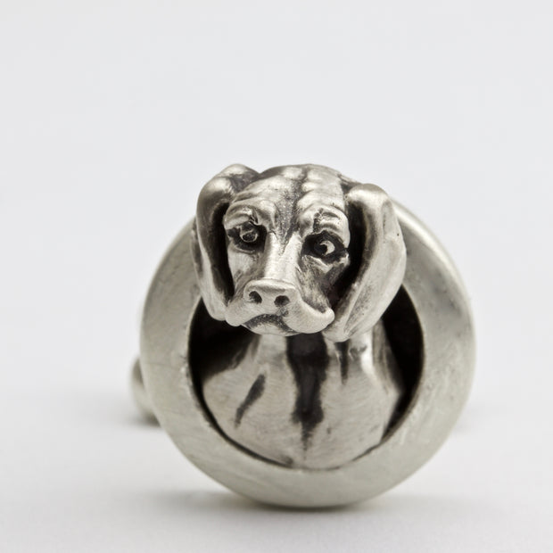 Beagle pair of Cufflinks