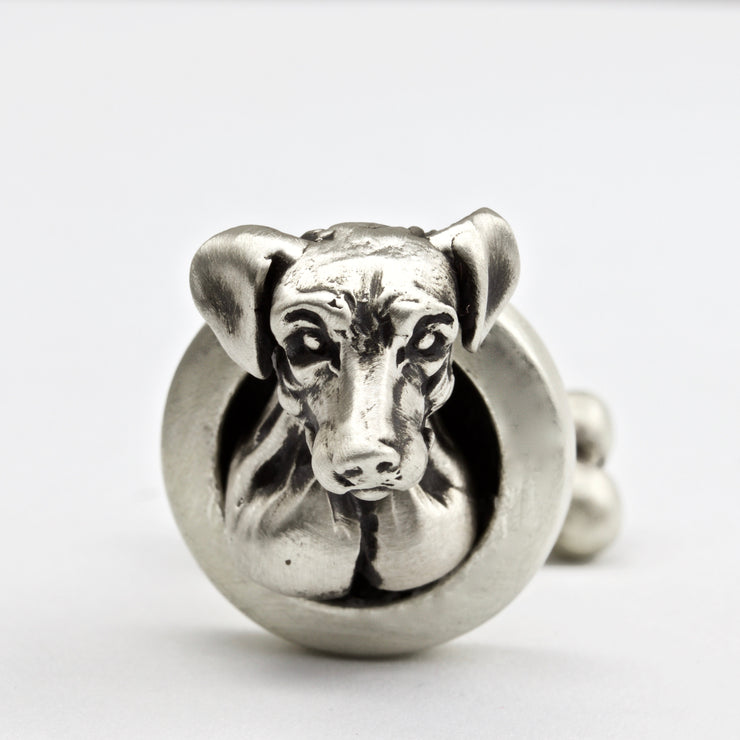 Jack Russell pair of Dog Cufflinks Jewelry