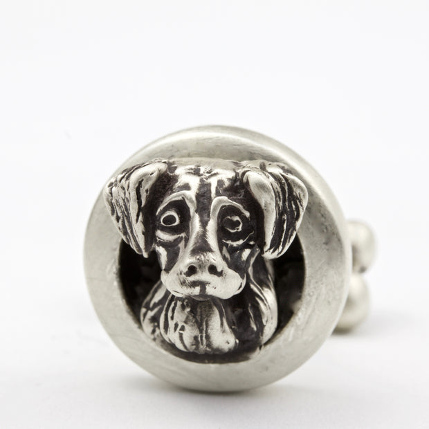 Golden Retriever pair of Cufflinks Jewelry