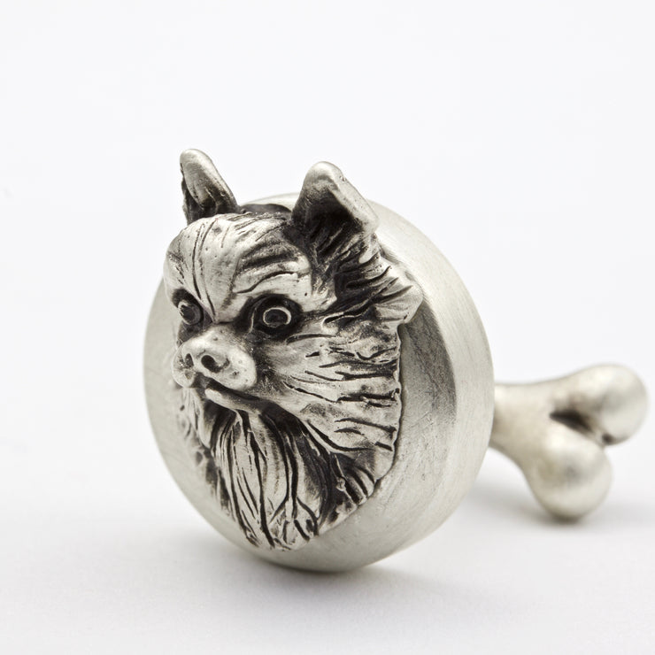 Pomeranian Pair of Cufflinks