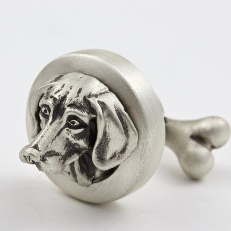Hungarian Vizsla pair of Cufflinks