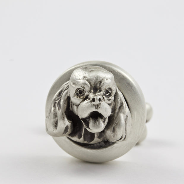 English Springer Spaniel pair of Cufflinks