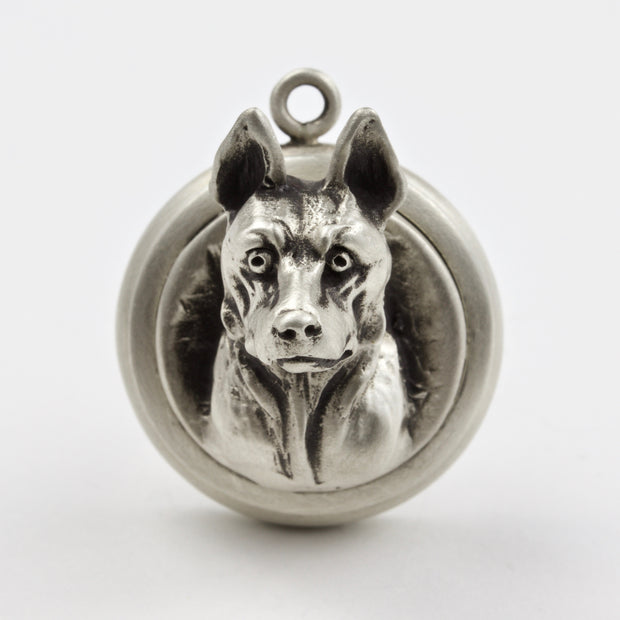 German Shepherd Dog Tag - Charm Jewerly