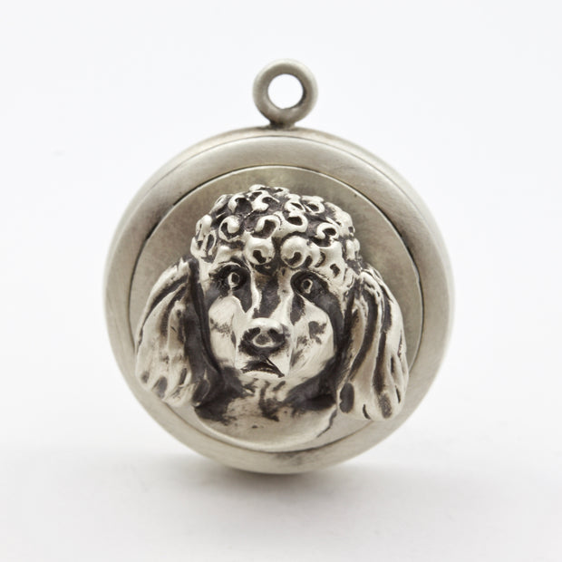 Poodle Dog Tag - Charm Jewerly