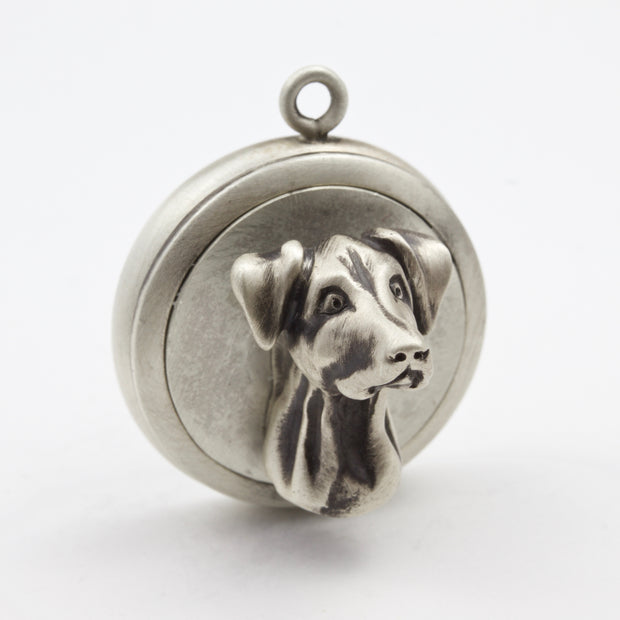 Doberman Natural Ears Dog Tag - Charm Jewerly
