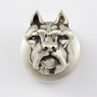 Pitbull Brooch