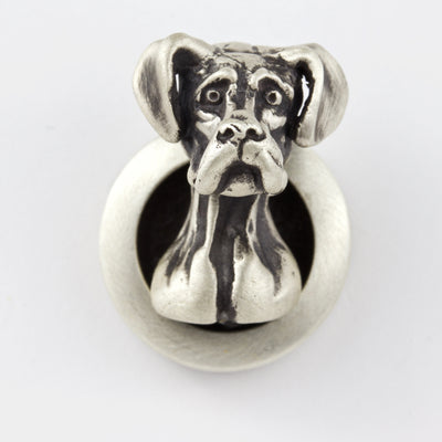 Great Dane Natural Ears Brooch
