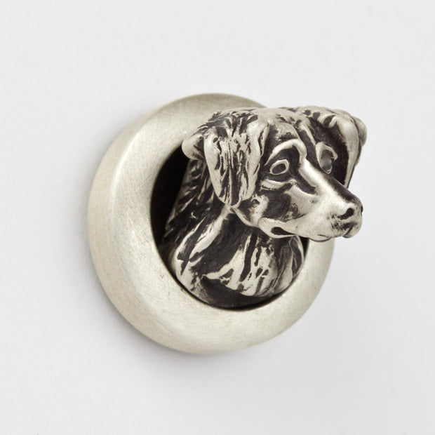 Golden Retriever Brooch