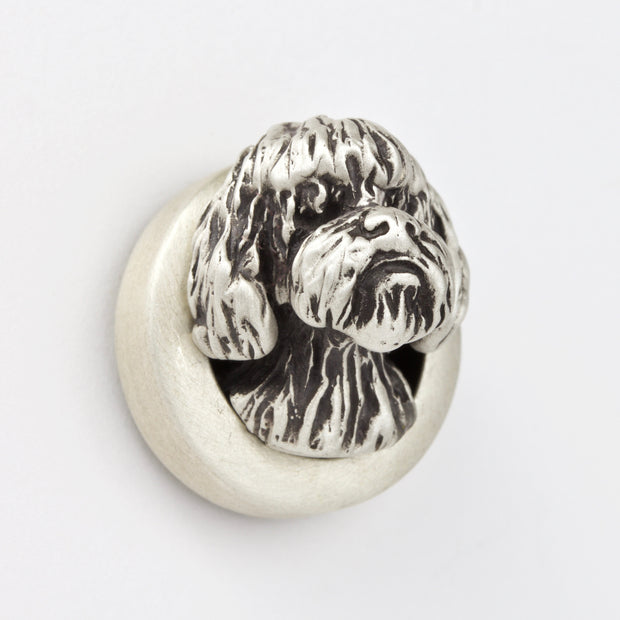 French/Portuguese Waterdog Brooch