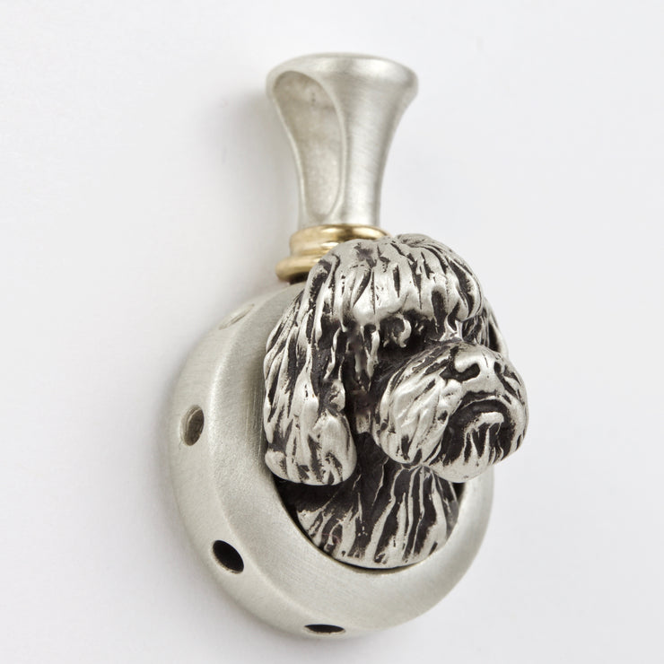 French/Portuguese Waterdog Necklace Pendant