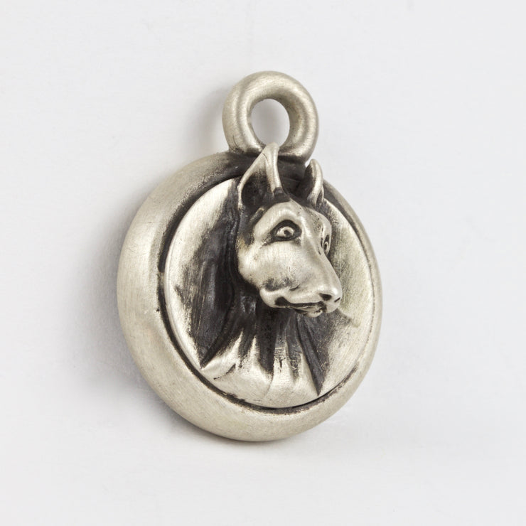 Doberman Dog Tag - Charm Jewerly