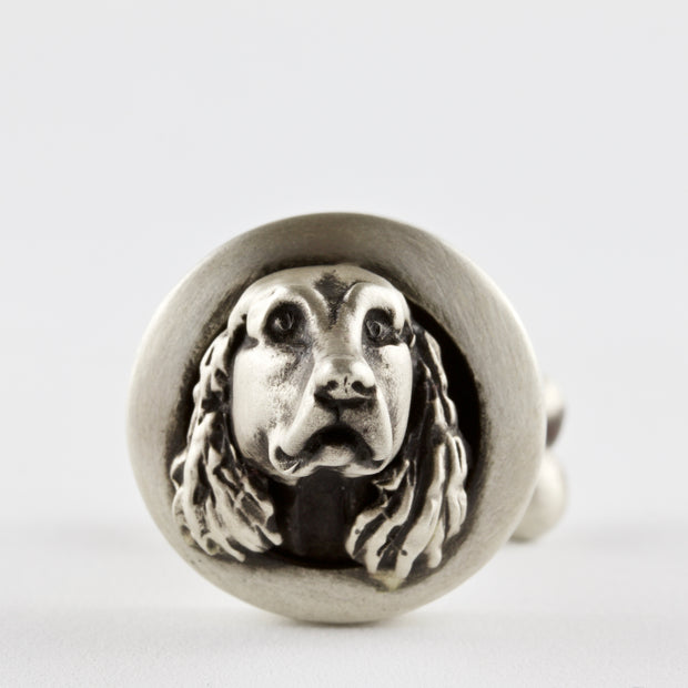 English, Irish, Gordon Setter pair of Cufflinks