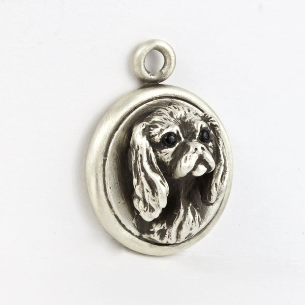 Cavalier King Charles Charm Dog Tag