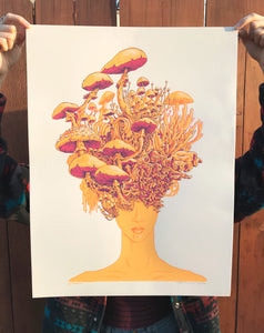 Visions Limited Edition Screen Print