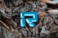 One LE 75 Black or Blue logo pin + One Lower LE Rutherford Logo Pin