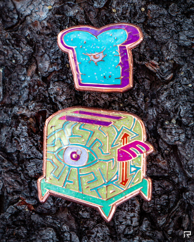 Surprise! Mini Toaster Limited Edition Enamel pin