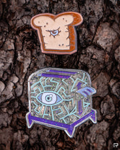 One Mini Toaster and One Toast Limited Edition Enamel Pin