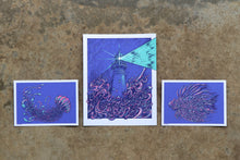 Limited Edition Ocean Screen Print Trio