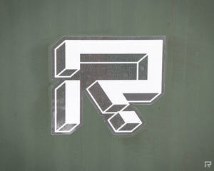Rutherford Logo Sticker