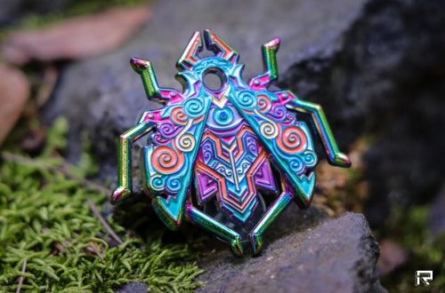 Single Blind Bag Bisco Beetle V3 Enamel Pin