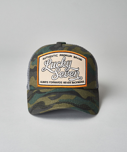 Always Forwards Camo Trucker