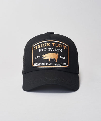 Kids Bricktop Trucker- Black