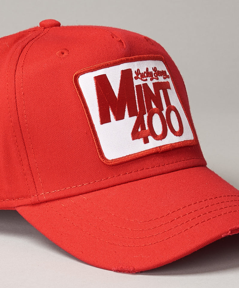 Mint 400 Red Baseball