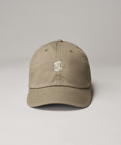 Khaki Embroidered Dad Hat