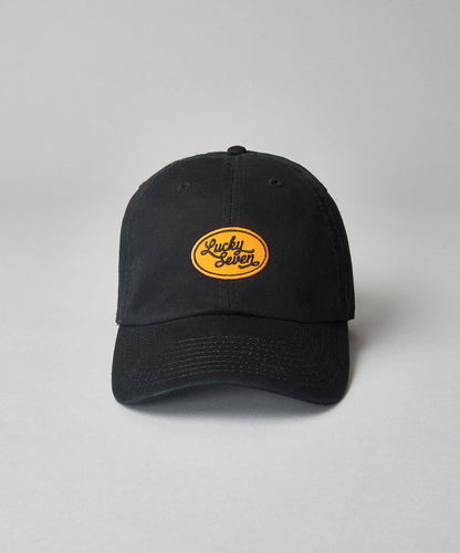 Orange Script Dad Hat