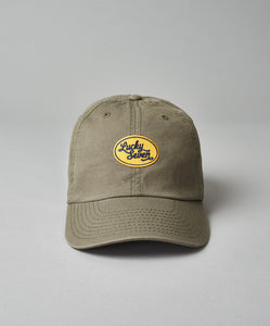 Yellow Script Dad Hat