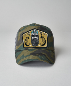 Beardy Man Camo Trucker
