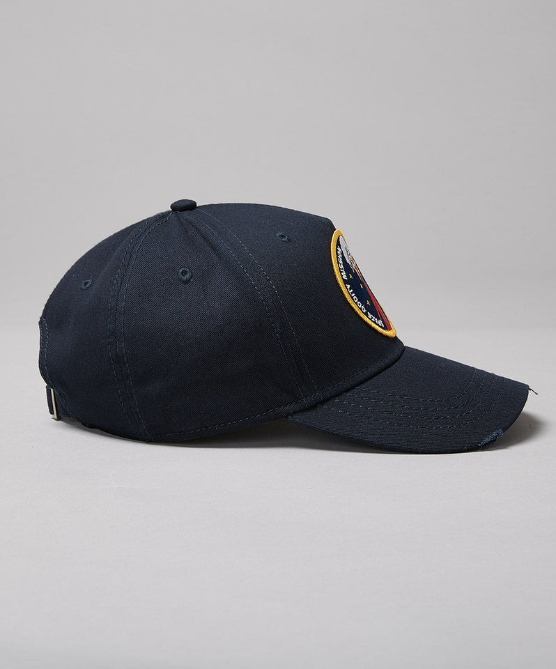David Bowie Major Tom Baseball- Navy