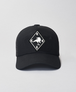 Kids CCCL Raven Trucker- Black