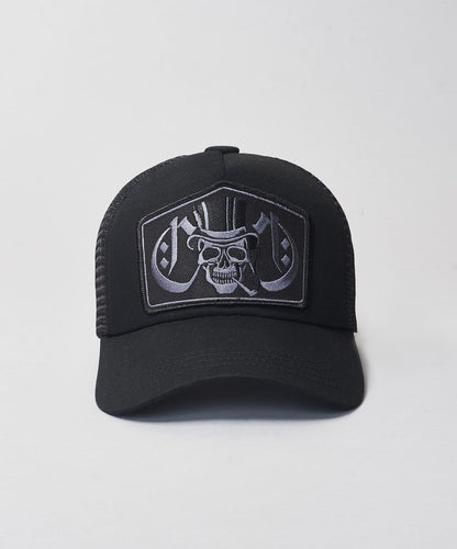 Smoking Skull Trucker