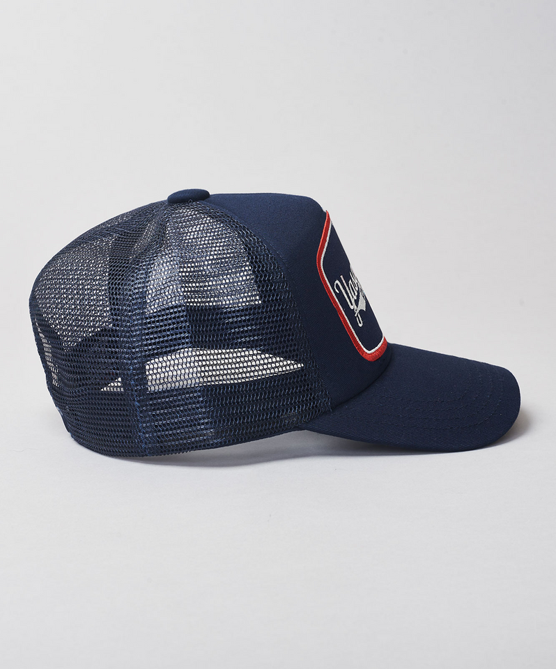 Woodstock Yasqur Trucker- Navy