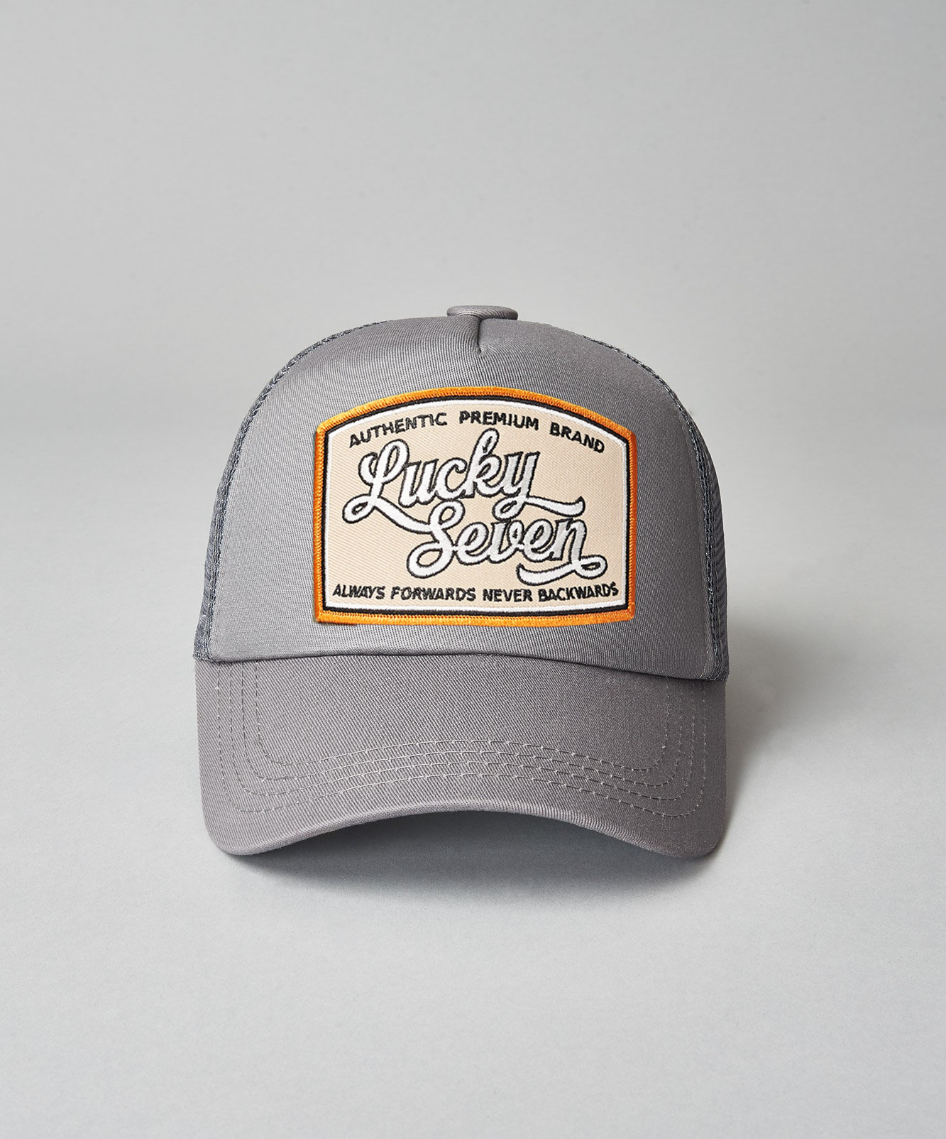 Always Forwards Trucker- Grey/Grey