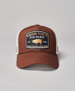 Bricktop Trucker- Brown