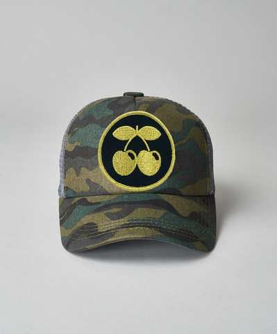 Pacha Gold Cherries Trucker