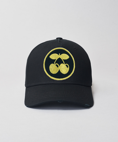 Pacha Gold Cherries Baseball- Black