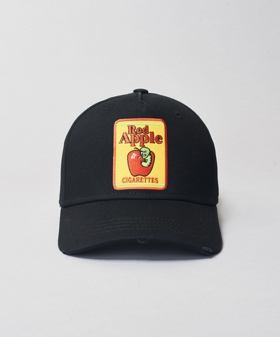 Red Apple Black Baseball