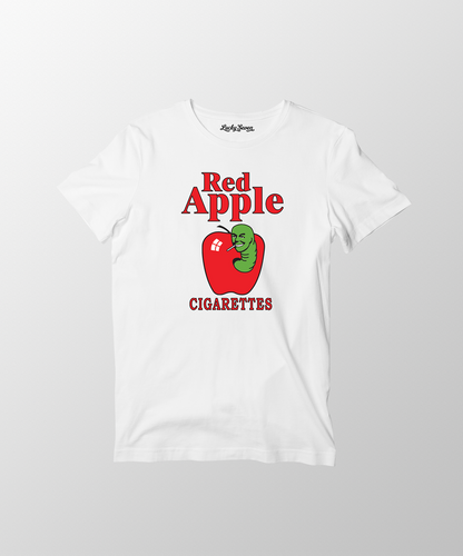 Red Apple T-Shirt- White