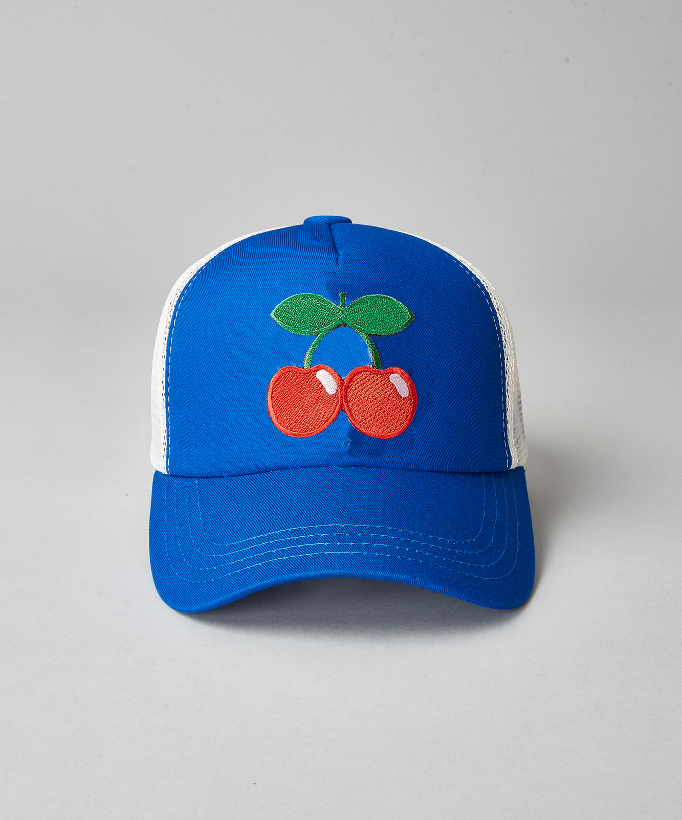 Pacha Kids Cherries Trucker- Royal Blue