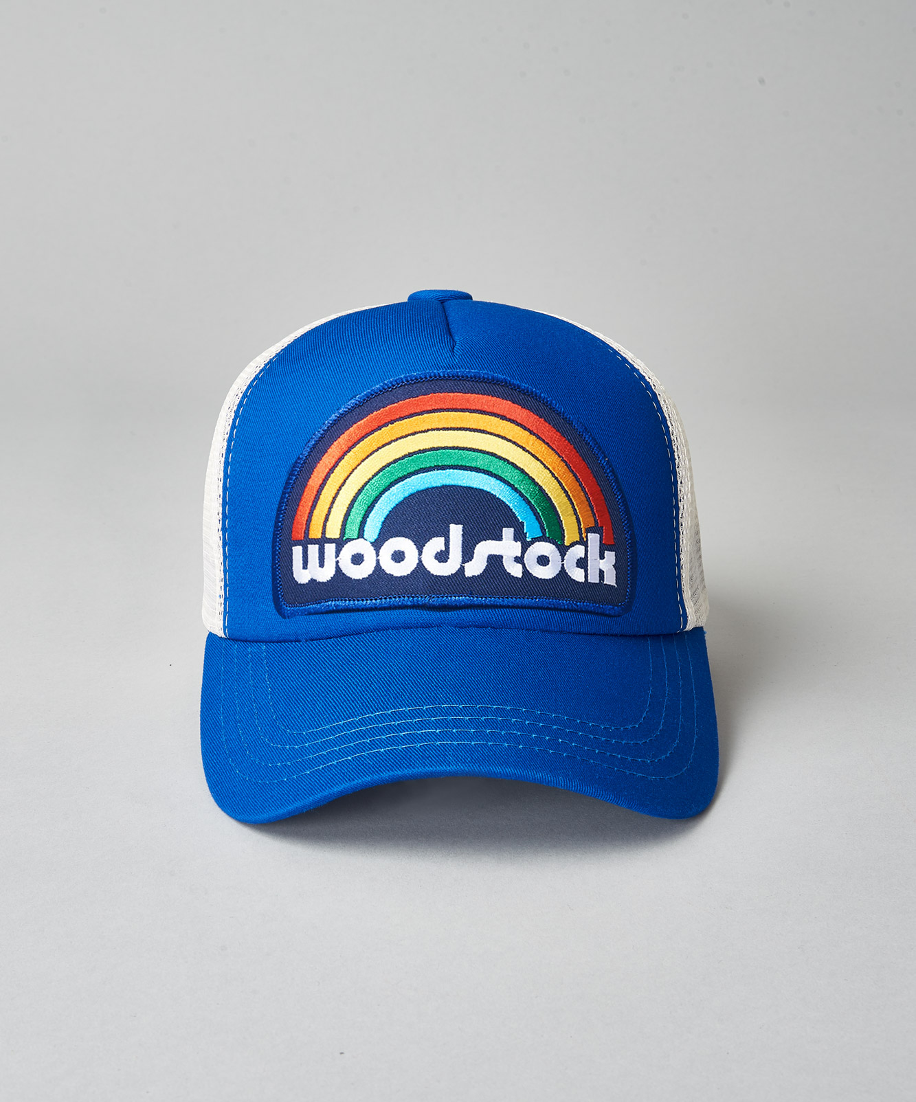 Woodstock Rainbow Trucker