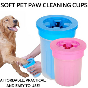 Soft Pet Paw Cleaning Cup - The Creature Getup