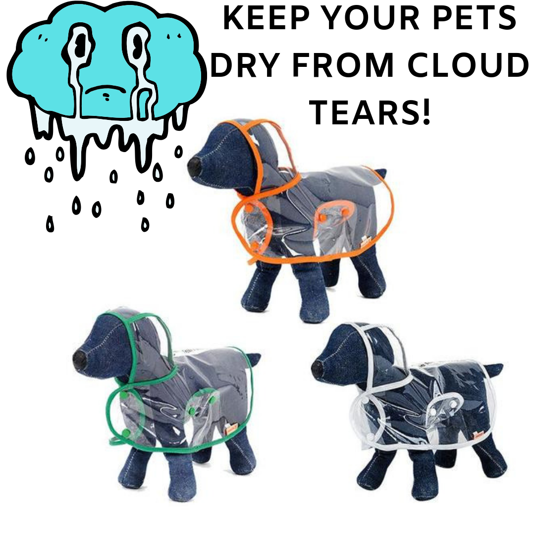 Doggie Raincoat - Small Breeds - The Creature Getup