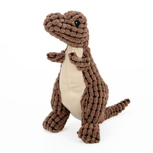 Pet Anxiety Stuffed Dinosaur Chew Toy - The Creature Getup