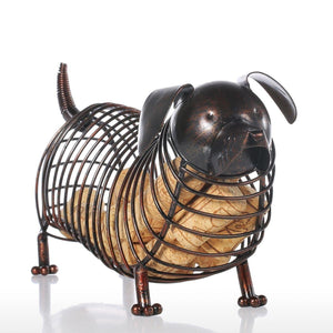Dachshund Lovers Wine Cork Container - The Creature Getup