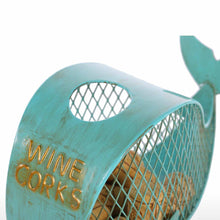Metal Whale Cork Container - The Creature Getup